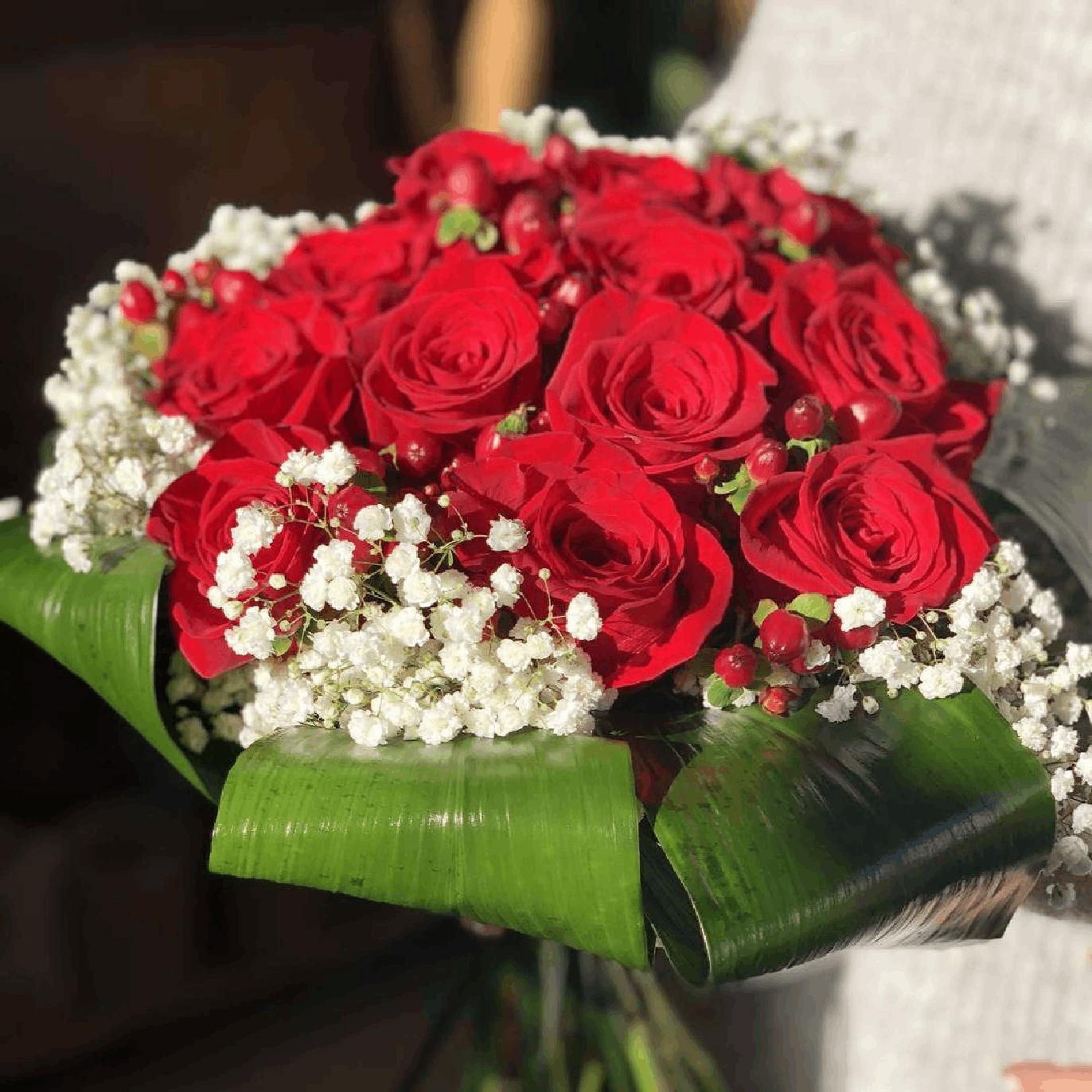 Ramo de Rosas - 12 Rosas Rojas